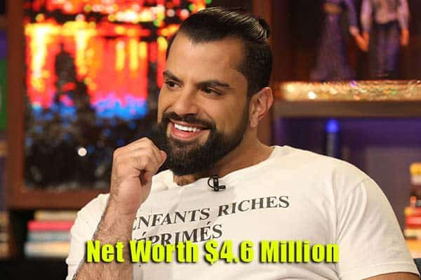 Image of Shervin Roohparvar net worth is $4.6 million
