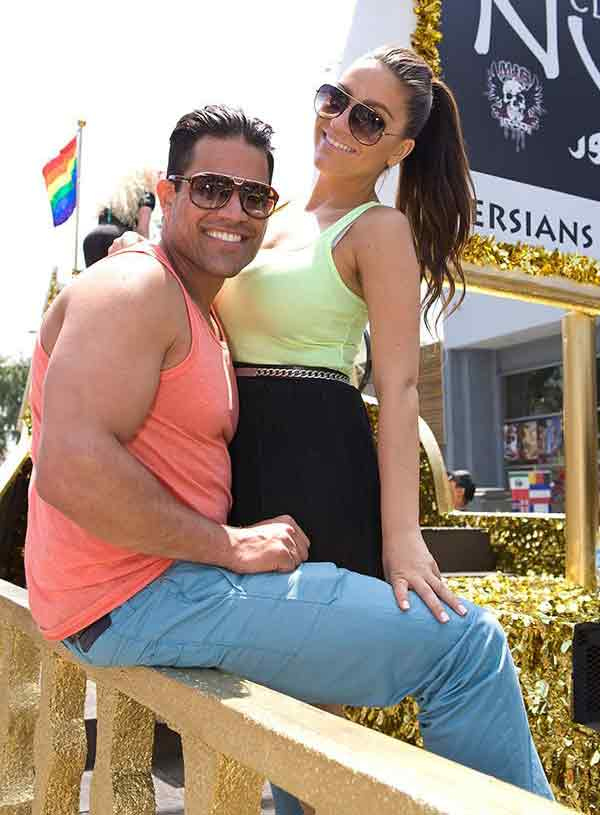 Image of Mike Shouhed with his ex-wife Jessica Parido