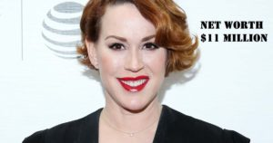 Image of Molly Ringwald net worth is $11 million