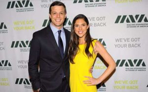 Image of Abby Huntsman with her husband Jeffrey Bruce Livingston