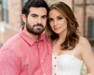 Image of Jedediah Bila with her husband Jeremy Scher.