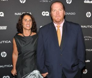 Image of Susi Cahn with her husband Mario Batali